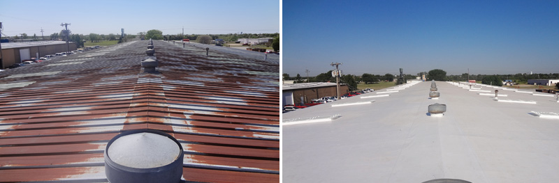 TBRC Roofing | Before / After Badgett