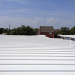 metal roof restoration example