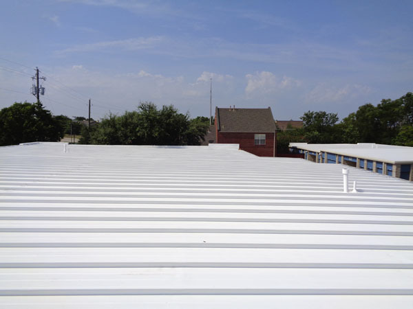 Metal Roof Restoration Example